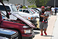 NWA Democrat-Gazette/J.T. WAMPLER Image from a car show Sunday May 28, 2017 at the Springdale Civic Center. Steeze Nation and ARModified organized the show and obtained sponsors, leaving all of the entry fees going to Arkansas Children's Hospital Northwest. Around 100 cars participated in the event.