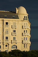 France, Aquitaine, Pyrénées-Atlantiques, Pays Basque, Biarritz:  Hôtel Régina, Avenue de l'Impératrice //  France, Pyrenees Atlantiques, Basque Country, Biarritz: The Mercure Thalassa Régina & Golf