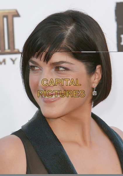 "SELMA BLAIR.""Hell Boy II: The Golden Army"" World Premiere - Los Angeles Film Festival Closing Night Film held at Mann Village Theater, Westwood, California, USA,.28 June 2008..portrait headshot black fringe profile.CAP/ADM/`CH.©Charles Harris/Admedia/Capital PIctures"