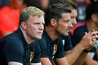 AFC Bournemouth Manager Eddie Howe with AFC Bournemouth Assistant Manager Jason Tindall during AFC Bournemouth vs Real Betis, Friendly Match Football at the Vitality Stadium on 3rd August 2018