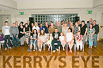 Thomas 'Bomber' O'Connor, Kilmoyley, celebrated his 40th Birthday with family and Friends at Ballyroe Heights Hotel on Saturday