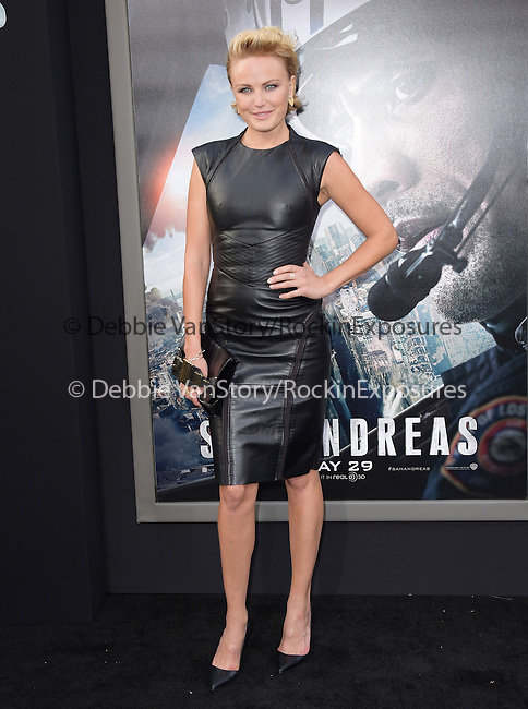 Malin Akerman attends The Warner Bros. Pictures World Premiere of San Andreas held at the TCL Chinese Theatre  in Hollywood, California on May 26,2015                                                                               © 2015 Hollywood Press Agency