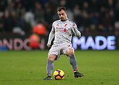 4th February 2019, London Stadium, London, England; EPL Premier League football, West Ham United versus Liverpool; Xherdan Shaqiri of Liverpool