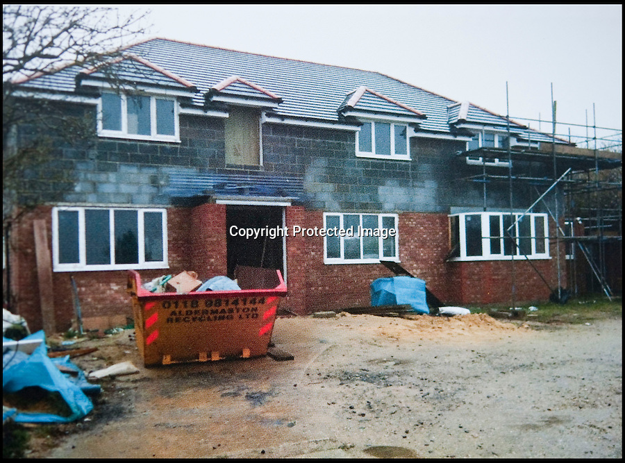 BNPS.co.uk (01202 558833)<br /> Pic: PhilYeomans/BNPS<br /> <br /> Nearly finished.<br /> <br /> Plucky Carol Sullivan turned a £160,000 black hole left by cowboy builders into one million pound house - after building her dream home herself.<br /> <br /> Carol was left severley out of pocket after her luxury home was built with sub-standard mortar - meaning the whole structure had to be pulled down when the project was half way through.<br /> <br /> After firing the builders and waving goodbye to £160,000, undaunted Carol(50) enrolled on a bricklaying course at her local college and learned how to build the house herself. <br /> <br /> Further courses in carpentry and plumbing  have enabled determined Carol to complete the project in a year. The house is now thought to worth £1 million.