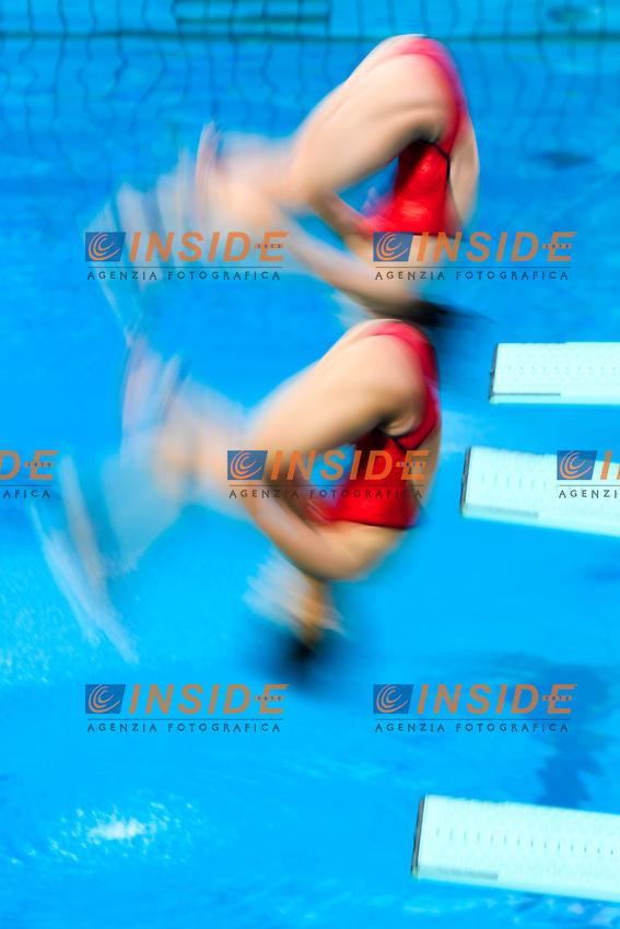 SHI Tingmao, WU Minxia CHINA CHN Gold Medal <br /> Rio de Janeiro 07-08-2016 Maria Lenka Aquatics Center  <br /> Diving Women's Synchronised 3m Springboard<br /> Tuffi Trampolino Sincronizzato 3m Sincro <br /> Foto Andrea Staccioli / Deepbluemedia /Insidefoto