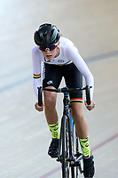 Summer Williams of Waikato BOP competes in the U15 Girls 500m Time Trial at the Age Group Track National Championships, Avantidrome, Home of Cycling, Cambridge, New Zealand, Wednesday, March 15, 2017. Mandatory Credit: © Dianne Manson/CyclingNZ  **NO ARCHIVING**
