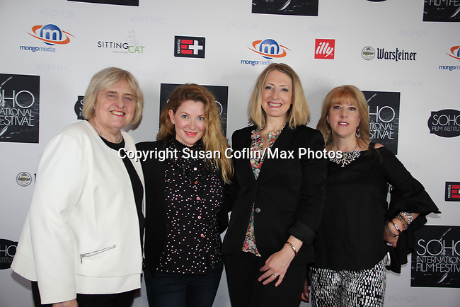 Candy Straight, Cady McClain, Kate Super, Suzanne Curry-  Seeing is Believing: Women Direct at its East Coast Premiere at Soho International Film Festival on June 19, 2017 in New York City, New York.(Photos by Sue Coflin/Max Photos)