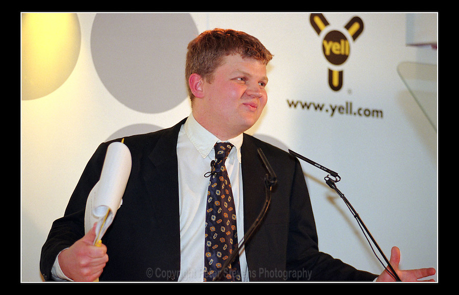 Adrian Chiles - Yellow Pages - E-Volve - Dover Street Wine Bar, London W1 - 29th March 2000