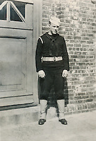 Wade Litzinger in dress blues - 1943?