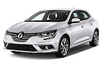 2016 Renault Megane Bose 5 Door Hatchback Angular Front stock photos of front three quarter view