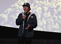 """LOS ANGELES - JUNE 3:  Jimmy Chin attends an FYC event for National Geographic's """"FREE SOLO"""" at the Cinerama Dome on June 3, 2019 in Los Angeles, California. (Photo by Scott Kirkland/National Geographic/PictureGroup)"""