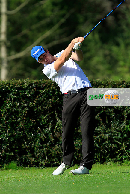 Colin Fairweather (Knock) on the 6th tee during round 2 of The Mullingar Electrical Scratch Trophy in Mullingar Golf Club on Monday 4th August 2014.<br /> Picture:  Thos Caffrey / www.golffile.ie