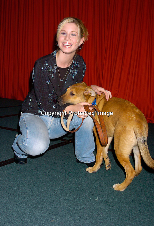 """Stephanie Gatschet and Jason ..at the  37th Annual  """"Going Home""""  Luncheon for Animal Haven on October 17, 2004 at the Sheraton LaGuardia East...Photo by Robin Platzer, Twin Images"""