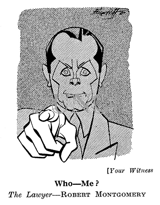 Your Witness ; Robert Montgomery