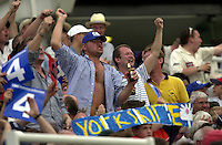 Photo Peter Spurrier.31/08/2002.Cheltenham & Gloucester Trophy Final - Lords.Somerset C.C vs YorkshireC.C..Yorkshire fans'