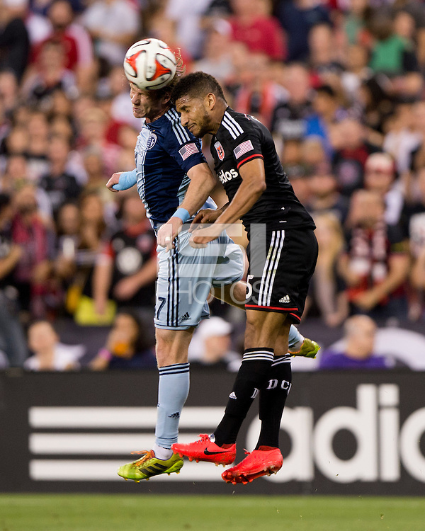 Washington, DC - May 31, 2014: D.C. United defeated Sporting Kansas City 1-0 at RFK Stadium.