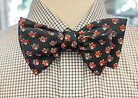 Close-up of a bow tie available in the Bookstore, Dec. 4, 2015.<br /> (Photo by Marc Campos, Occidental College Photographer)