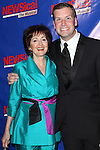 Robin Strasser & Tom D'Angora attending the Opening Night Performance of Perez Hilton in 'NEWSical The Musical' at the Kirk Theatre  in New York City on September 17, 2012.