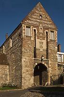 Europe/France/Picardie/80/Somme/Baie de Somme/ Saint-Valery-sur-Somme : La Porte de  Nevers