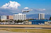 Private Jet Leaving John Wayne Airport