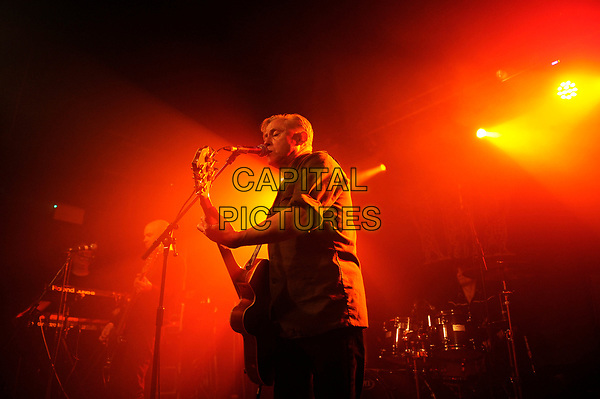 LONDON, ENGLAND - APRIL 30: Kirk Brandon of 'Spear of Destiny' performing at The Garage on April 30, 2017 in London, England.<br /> CAP/MAR<br /> &copy;MAR/Capital Pictures