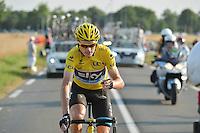 Christopher Froome (Great Britain / Team Sky)  <br /> tappa 21 del Tour de France<br /> 21/07/2013 Parigi<br /> Foto Vincent Kalut / Insidefoto/ Panoramic