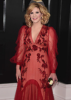 NEW YORK - JANUARY 28:  Alison Krauss at the 60th Annual Grammy Awards at Madison Square Garden on January 28, 2018 in New York City. (Photo by Scott Kirkland/PictureGroup)
