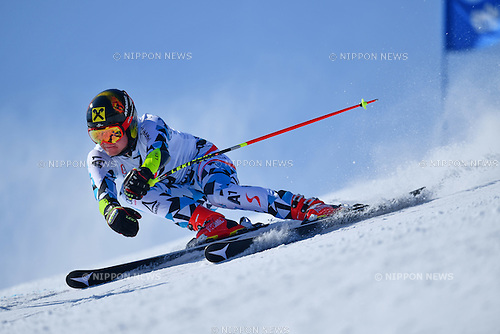 CB Schneider (AUT), <br /> MARCH 5, 2017 - Alpine Skiing :<br /> IPC Alpine World Cup Hakuba,<br /> Men's Giant Slalom <br /> Standing LW6/8-2 <br /> at Hakuba Happo One, Nagano Japan.<br /> (Photo by AFLO SPORT)
