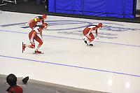 SPEEDSKATING: CALGARY: 14-11-2015, Olympic Oval, ISU World Cup, Team SUI, ©foto Martin de Jong