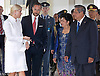 """Jakarta, 2012-11-26: CROWN PRINCESS METTE-MARIT AND CROWN PRINCE HAAKON OF NORWAY.visit the Presidential Palace, where they were met by President Susilo Bambang Yudhoyono of Indonesia and wife Kristiani Herrawati .The Royal couple are on a tour of Indonesia.Mandatory Credit Photo: ©NEWSPIX INTERNATIONAL..**ALL FEES PAYABLE TO: """"NEWSPIX INTERNATIONAL""""**..IMMEDIATE CONFIRMATION OF USAGE REQUIRED:.Newspix International, 31 Chinnery Hill, Bishop's Stortford, ENGLAND CM23 3PS.Tel:+441279 324672  ; Fax: +441279656877.Mobile:  07775681153.e-mail: info@newspixinternational.co.uk"""
