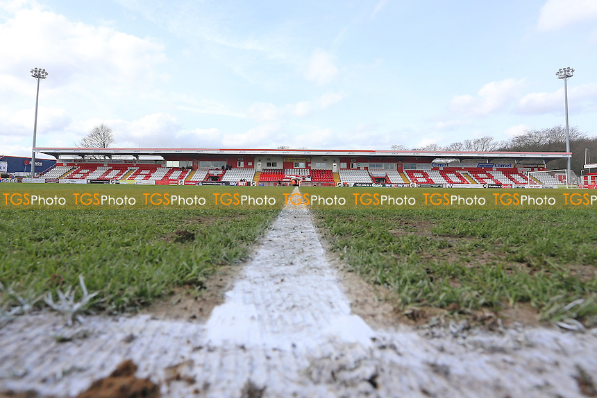 General view of the ground during Stevenage vs Notts County, Sky Bet EFL League 2 Football at the Lamex Stadium on 4th March 2017