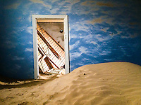 The Cloud Room in Kolmanskop, Namibia