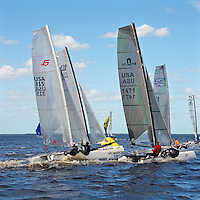 AT- Zhik F-18 Americas Championship Race - Race Highlights, Port Charlotte FL 10 15