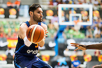 Spain's basketball player Rudy Fernandez during the first match of the preparation for the Rio Olympic Game at Coliseum Burgos. July 12, 2016. (ALTERPHOTOS/BorjaB.Hojas)