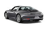 Car pictures of rear three quarter view of a 2015 Porsche 911 Targa 4S 2 Door Coupe Angular Rear