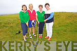 TAKEN PART: Playing at the Lady President of Tralee Golf Club competition on Sunday l-r: Mary Scully,Niamh Carroll and Margaret Hayes.