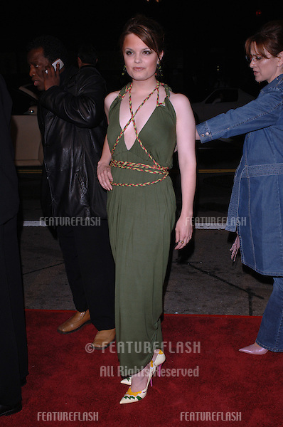 Actress KIMBERLY J. BROWN at the world premiere of Beauty Shop..March 24, 2005 Los Angeles, CA..© 2005 Paul Smith / Featureflash