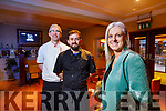 Banners Hotel are offering nurses a free meal on the day of their strike, from left Chefs Hugh Culloty, Ricardo Gordillo and Orlagh Winters Operations Manager