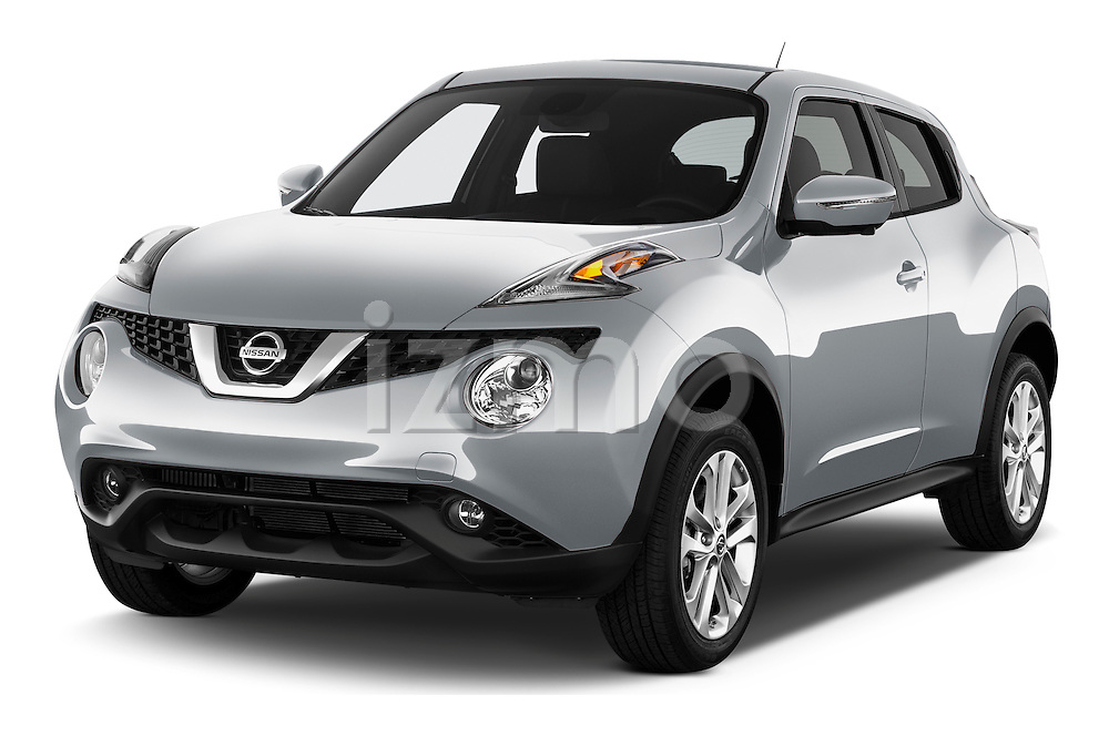 Front three quarter view of a 2015 Nissan Juke SL