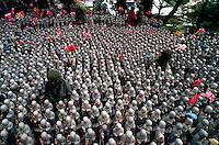 Guardian Buddhas of children, Kamakura, Japan