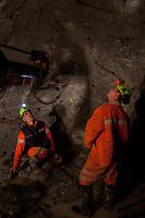 ITALIA Torino  Miniere di talco Val Chisone ITALIE Turin Mines de talc de la Val Chisone Italy Turin talc mines