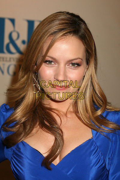 "BECKI NEWTON .MT & R's 24th Annual William S. Paley Television Festival, ""Ugly Betty"" at the Directors Guild, West Hollywood, California, USA..March 12th, 2007.headshot portrait blue.CAP/ADM/BP.©Byron Purvis/AdMedia/Capital Pictures"