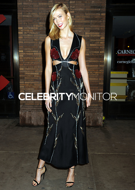 NEW YORK CITY, NY, USA - NOVEMBER 10: Karlie Kloss arrives at the 2014 Glamour Women Of The Year Awards held at Carnegie Hall on November 10, 2014 in New York City, New York, United States. (Photo by Celebrity Monitor)