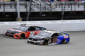 #10: Aric Almirola, Stewart-Haas Racing, Ford Mustang Smithfield / Meijer and #20: Erik Jones, Joe Gibbs Racing, Toyota Camry Craftsman / Sport Clips
