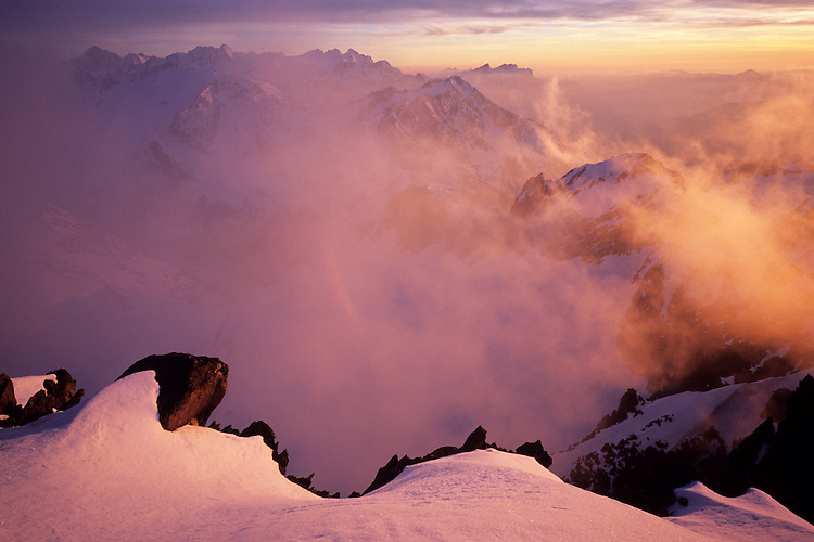 Summit of Vorder Tierberg, looking towards Oberland, Switzerland, 2006