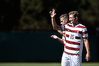 Stanford, Ca - Sunday, September 6, 2015.  Stanford Men's Soccer competes against Virginia Commonwealth University on the Maloney Field at the Laird Q. Cagan Stadium in Stanford, California.  Stanford won, 2-0.