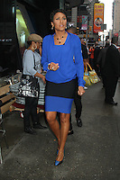 May 16, 2012 Robin Roberts host of Good Morning America in New York City. Credit: RW/MediaPunch Inc.