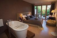 Europe/France/Aquitaine/33/Gironde/Bassin d'Arcachon/Cap-Ferret: Hôtel: Côté Sable -une chambre