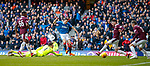 24.02.18 Rangers v Hearts:<br /> Jamie Murphy scores for Rangers