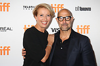 EMMA THOMPSON AND STANLEY TUCCI - RED CARPET OF THE FILM 'THE CHILDREN ACT' - 42ND TORONTO INTERNATIONAL FILM FESTIVAL 2017 . TORONTO, CANADA, 09/09/2017. # FESTIVAL DU FILM DE TORONTO - RED CARPET 'THE CHILDREN ACT'